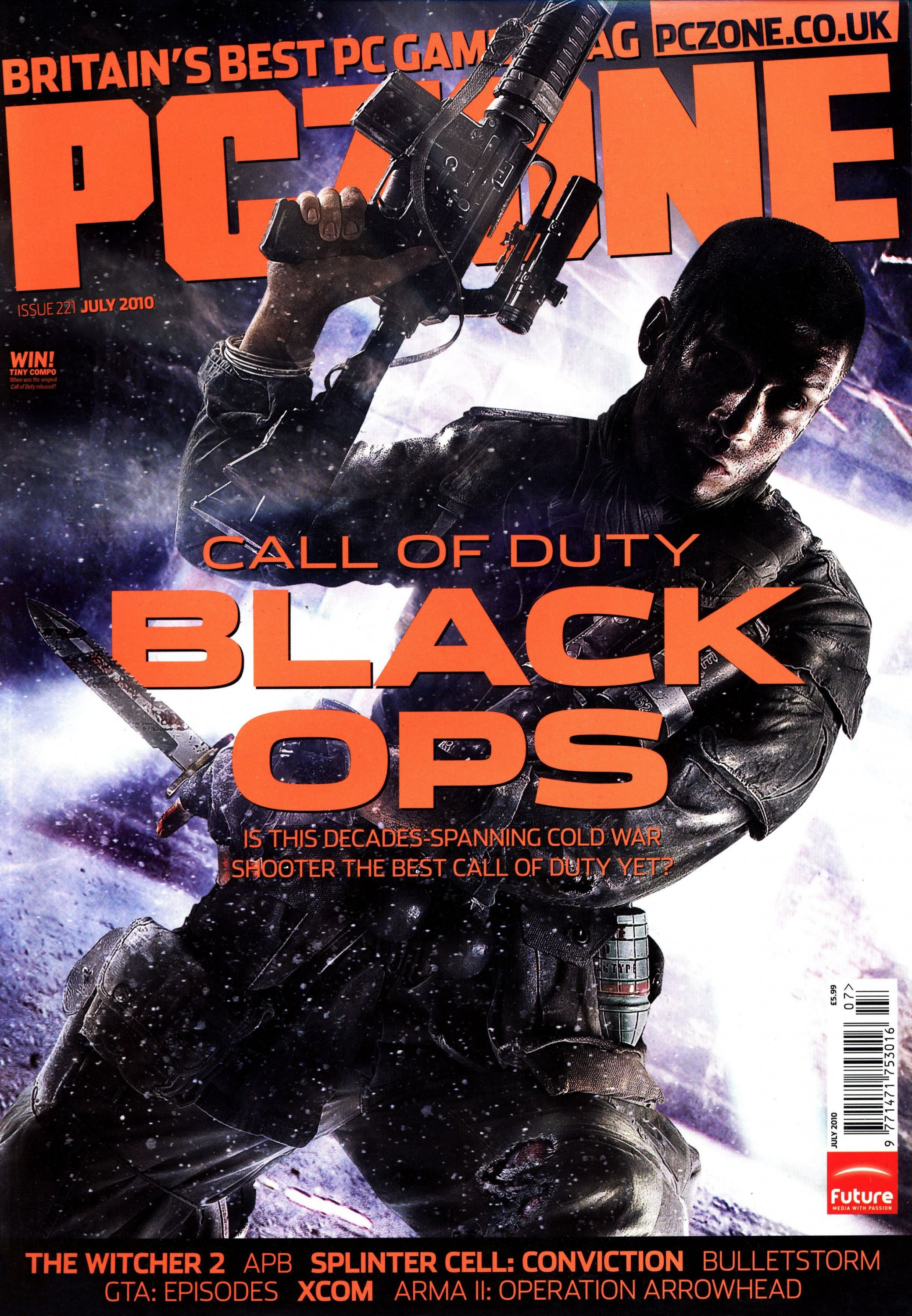 PC Zone Issue 221 (July 2010)