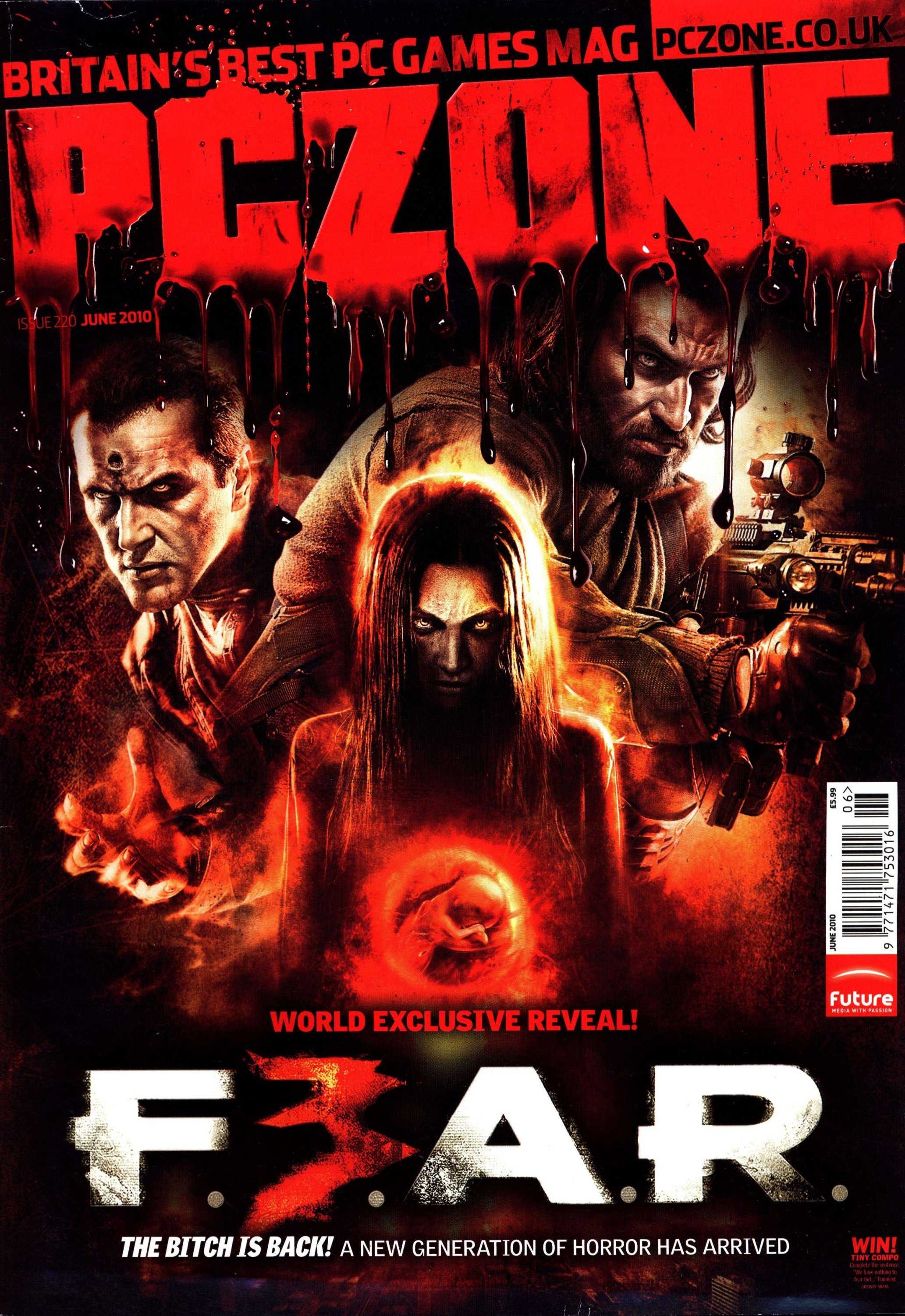 PC Zone Issue 220 (June 2010)