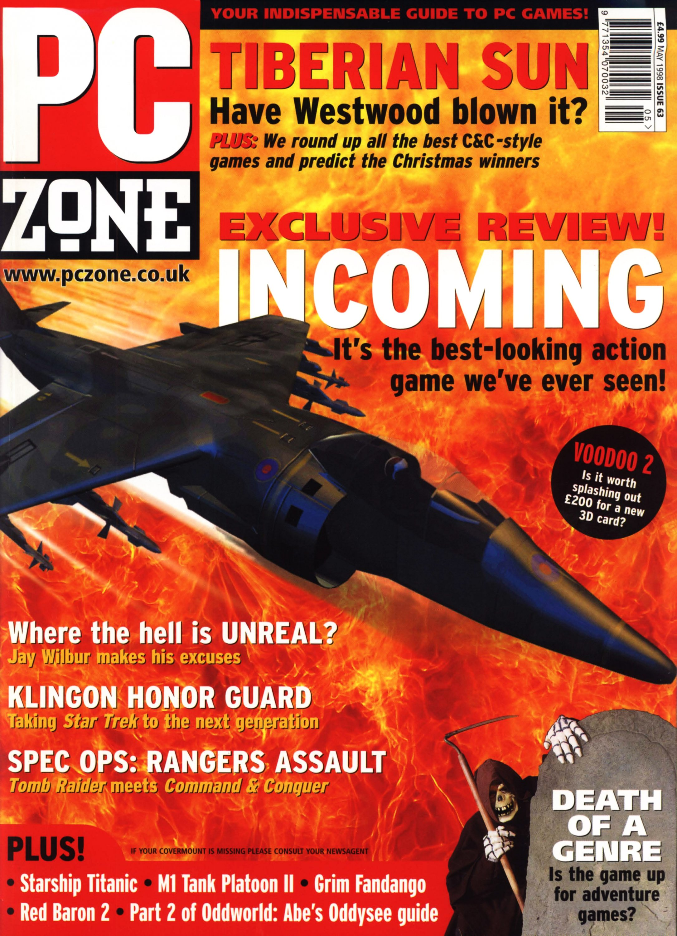 PC Zone Issue 063 (May 1998)