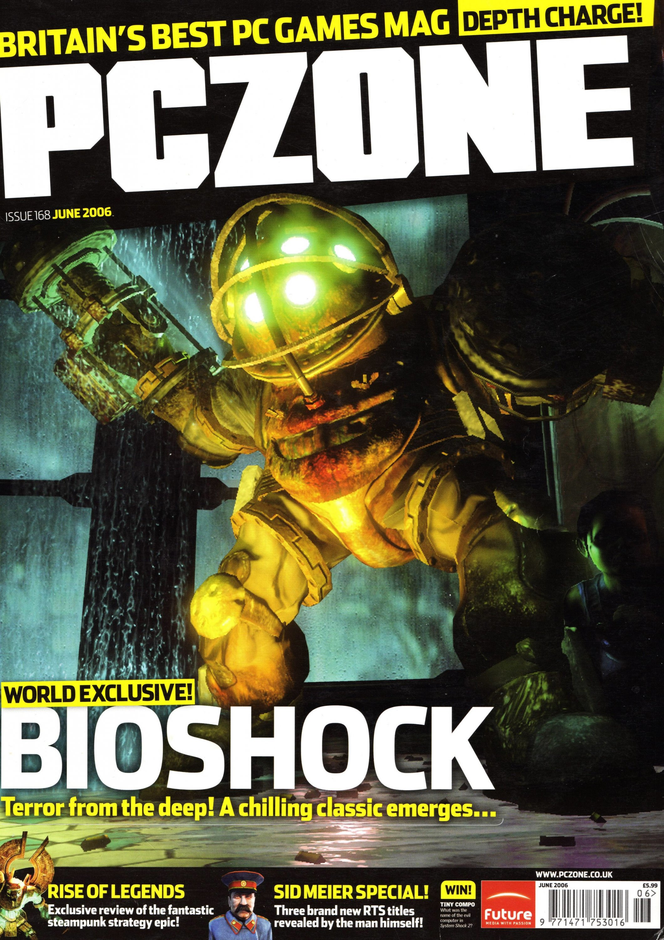 PC Zone Issue 168 (June 2006)