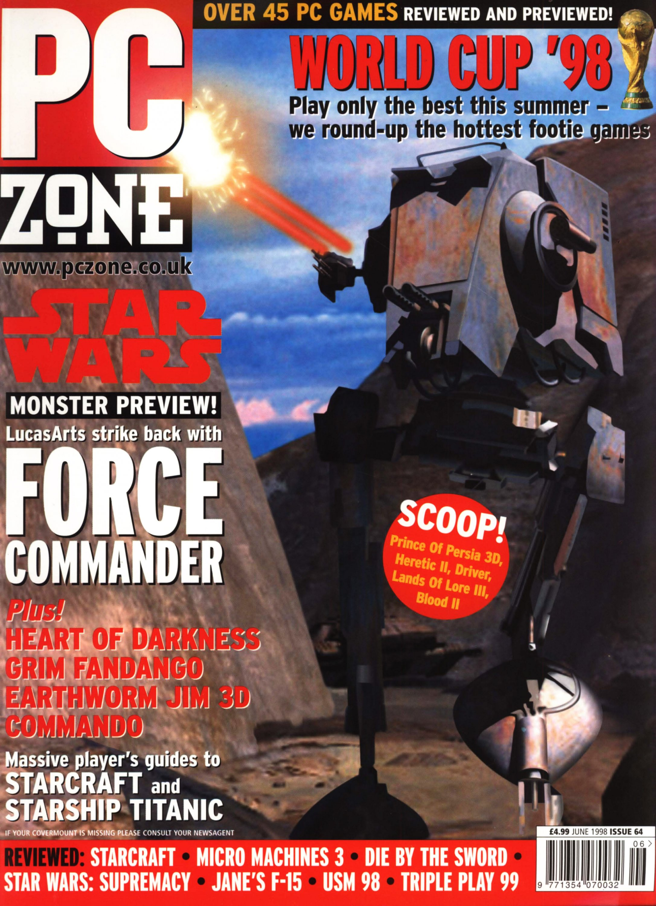 PC Zone Issue 064 (June 1998)