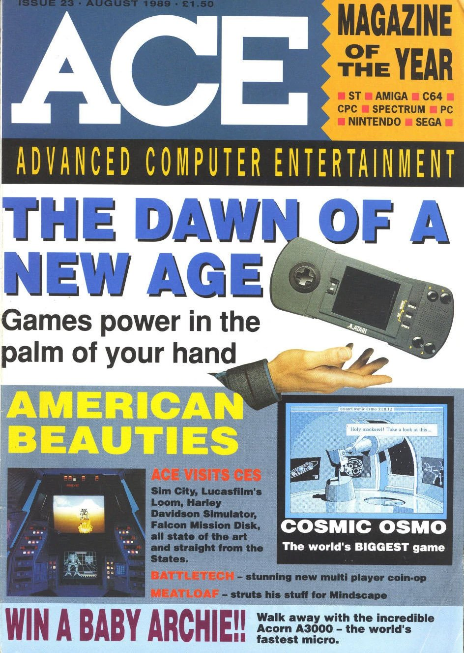 ACE 23 (August 1989)