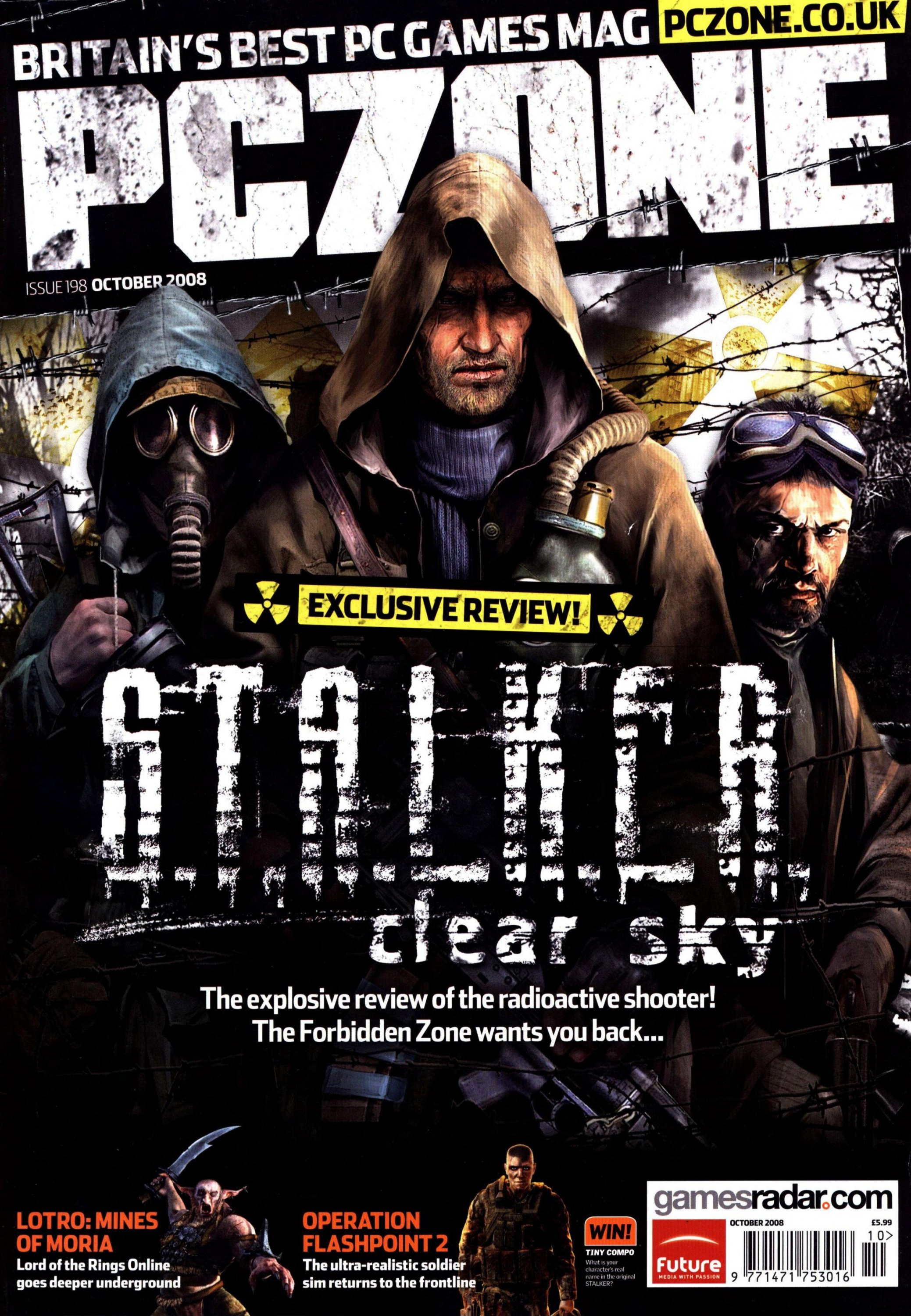 PC Zone Issue 198 (October 2008)