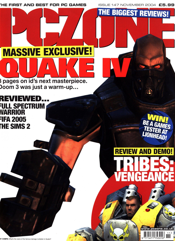 PC Zone Issue 147 (November 2004)