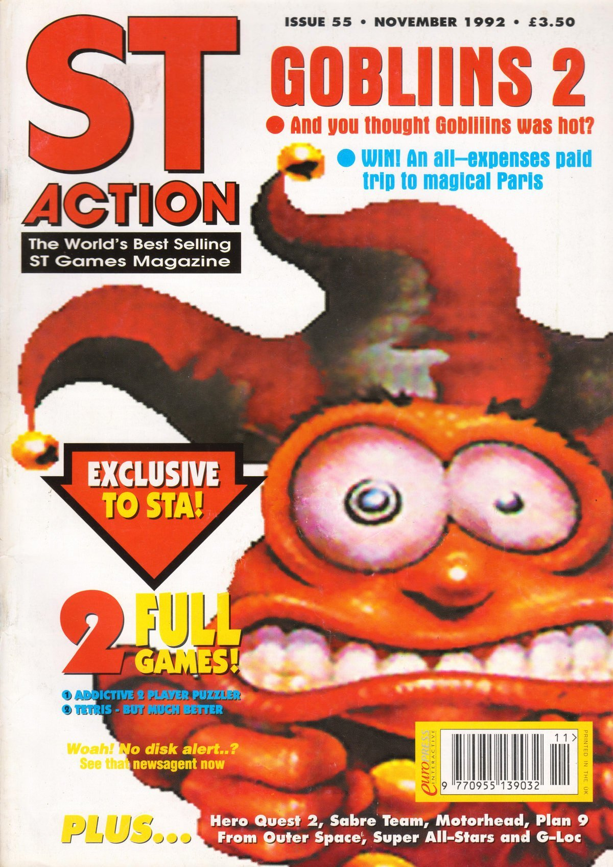 ST Action Issue 55 (November 1992)