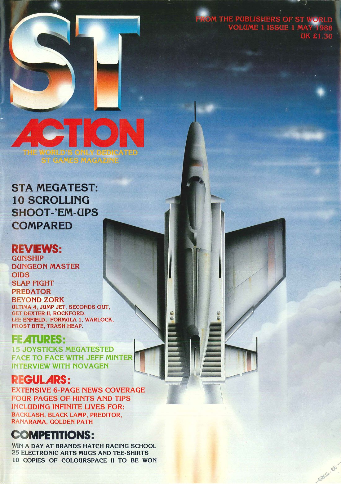 ST Action Issue 01 (May 1988)