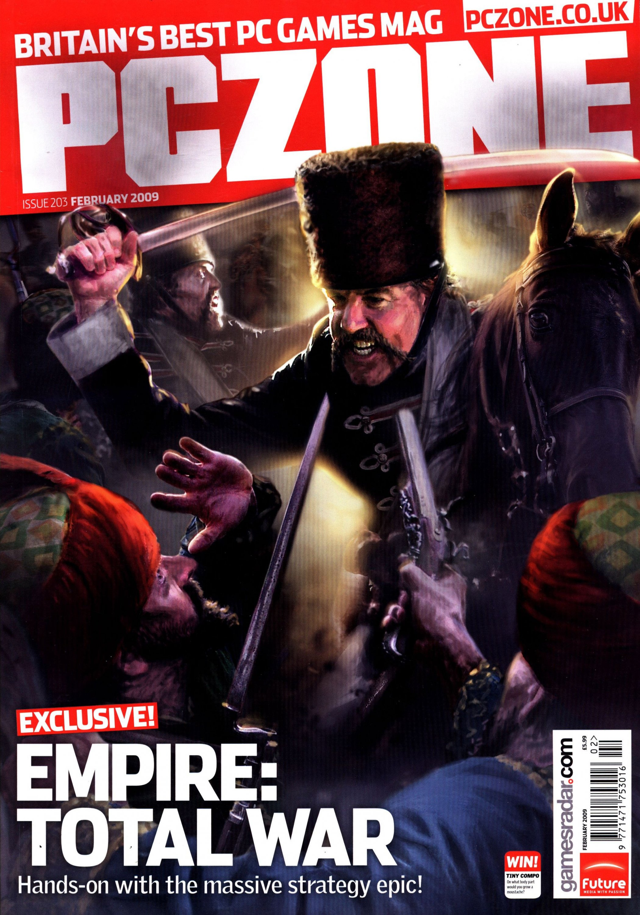 PC Zone Issue 203 (February 2009)