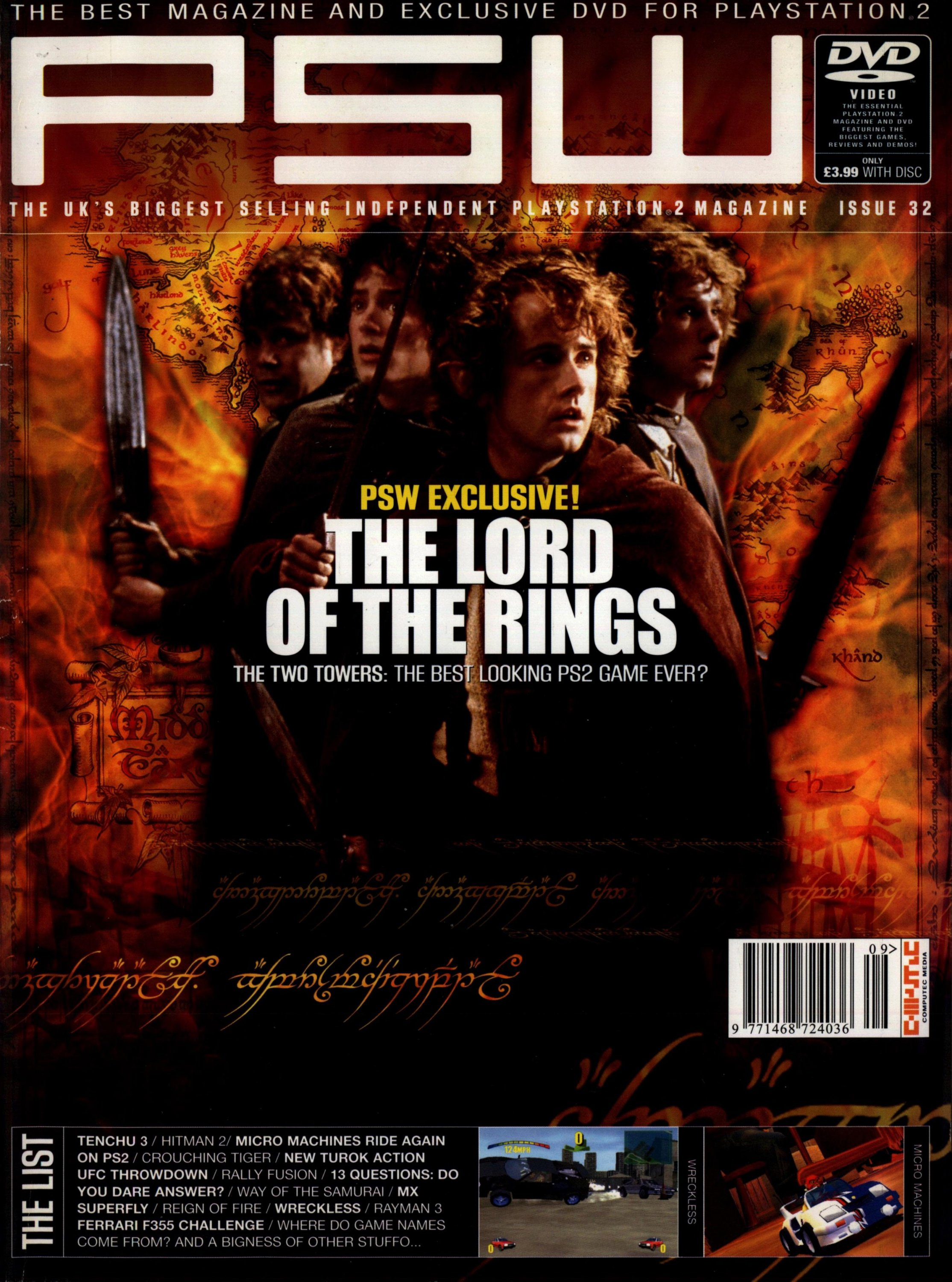 PSW Issue 32 (July 2002)