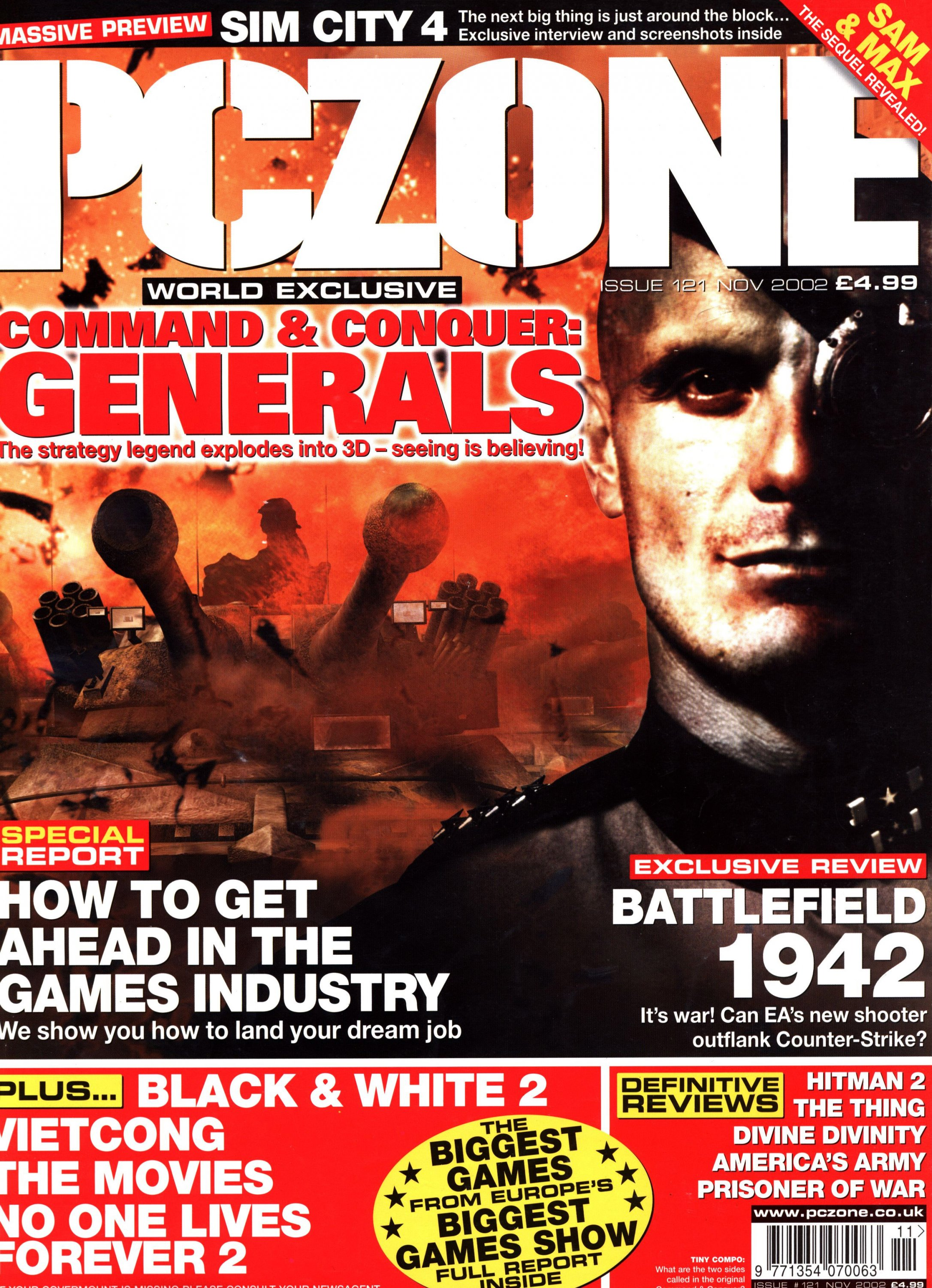 PC Zone Issue 121 (November 2002)