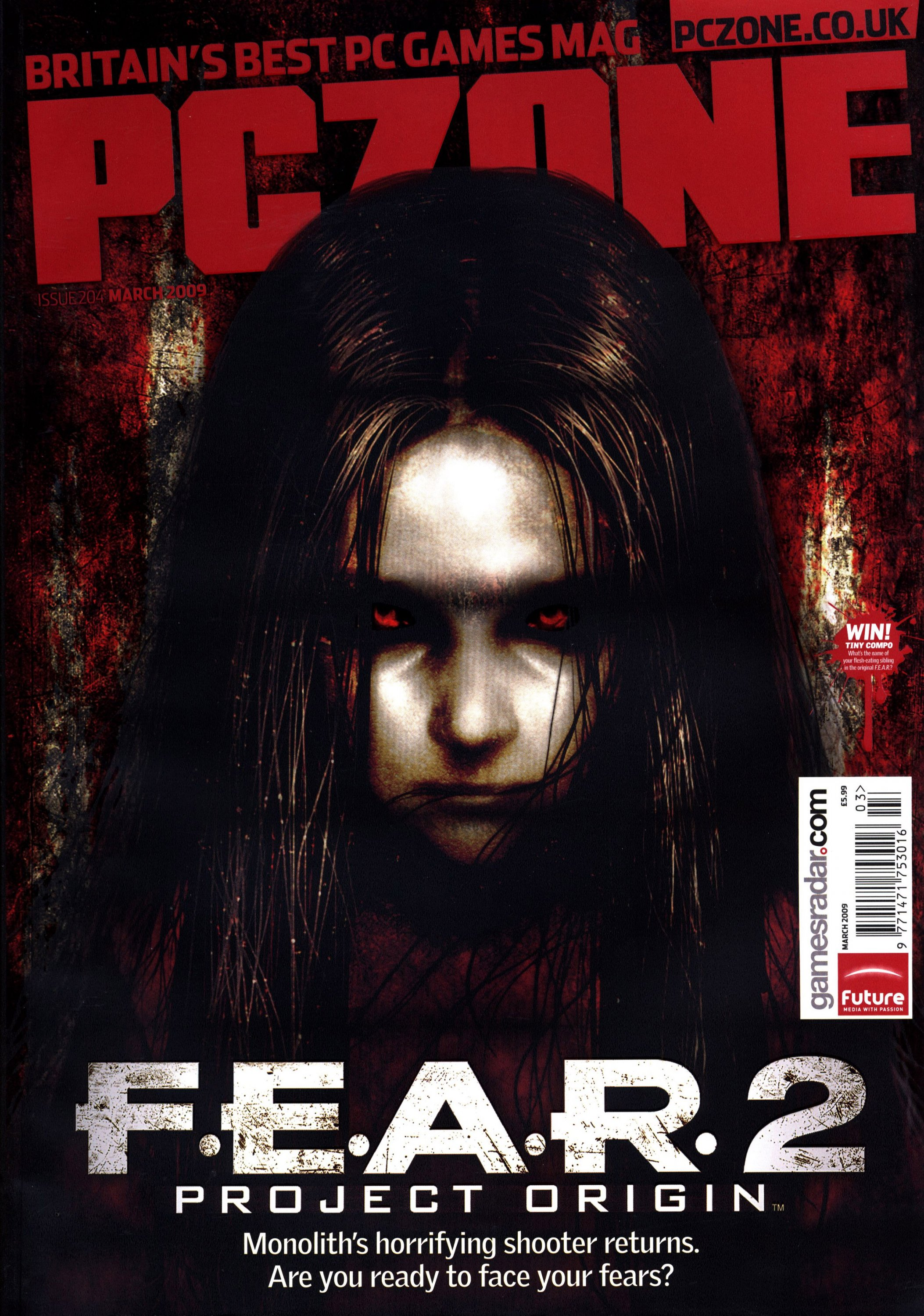 PC Zone Issue 204 (March 2009)