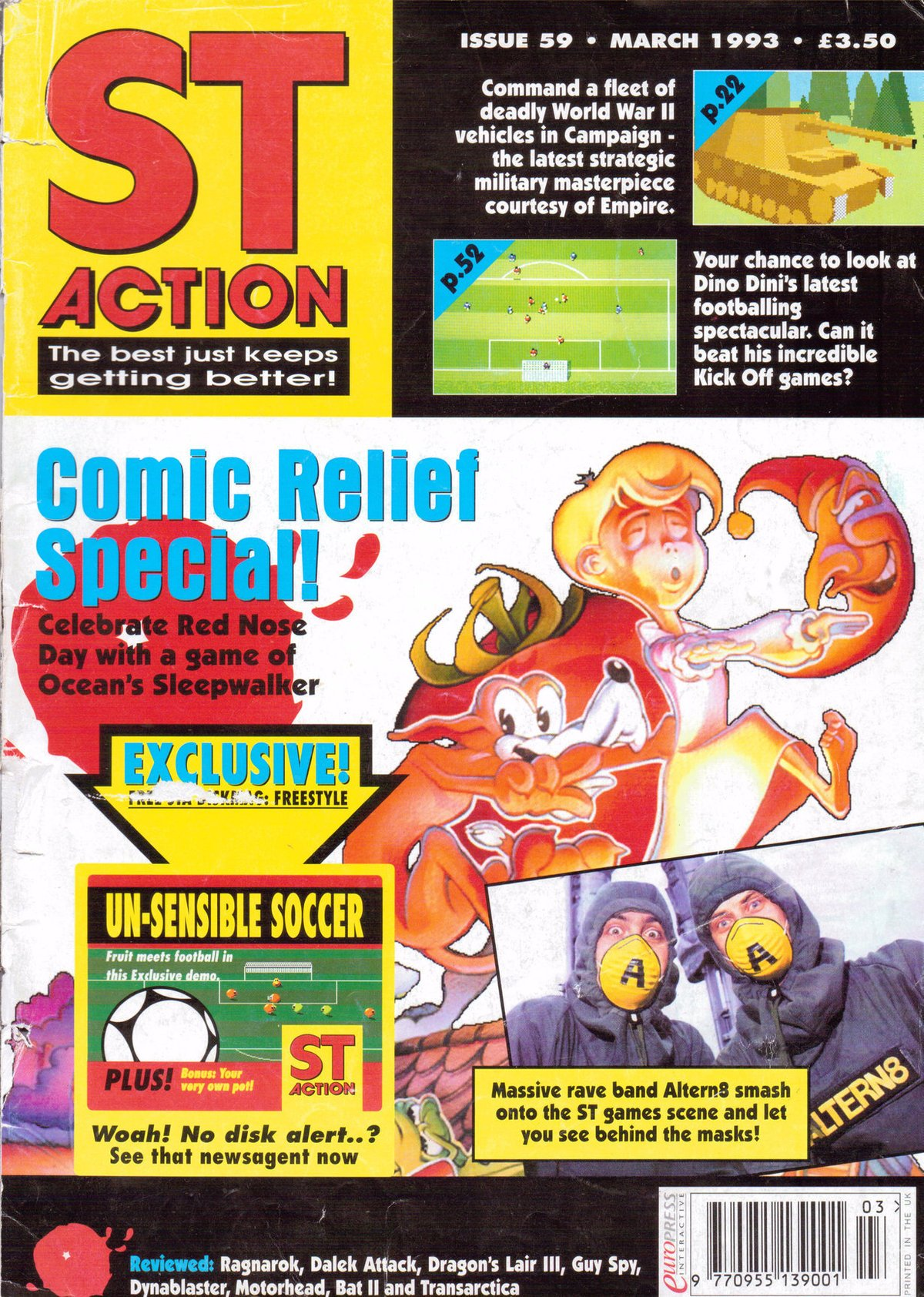 ST Action Issue 59 (March 1993)