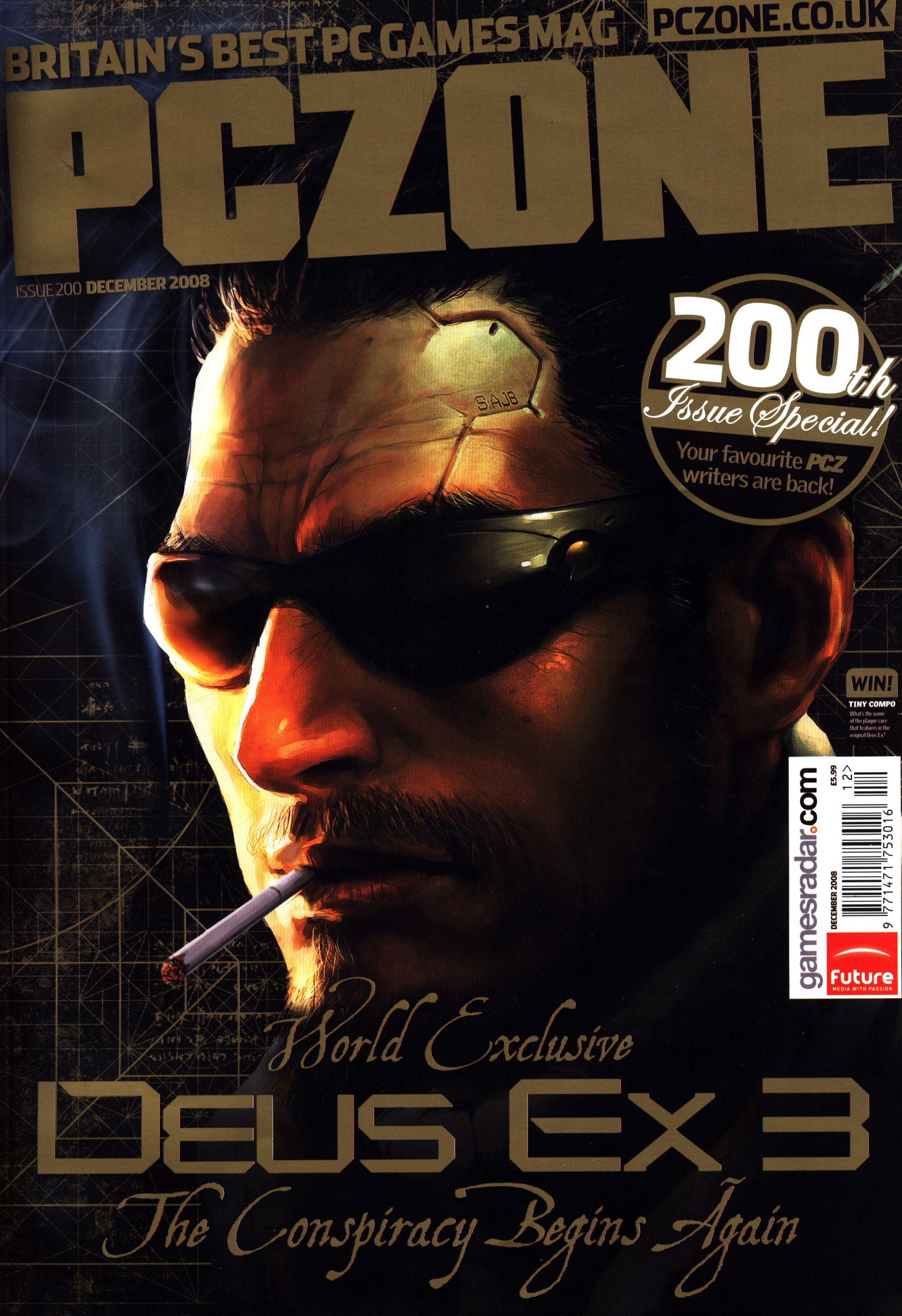 PC Zone Issue 200 (December 2008)