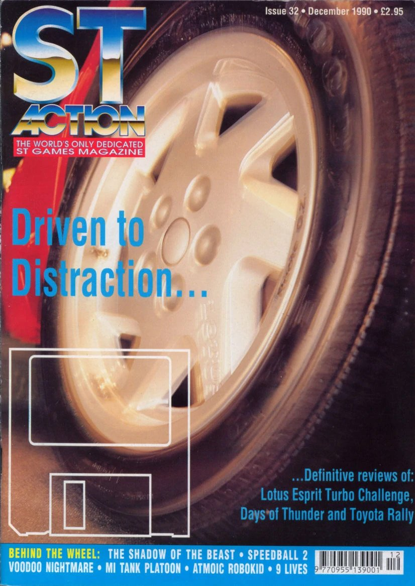 ST Action Issue 32 (December 1990)