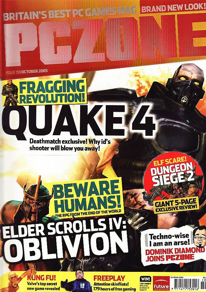 PC Zone Issue 159 (October 2005)