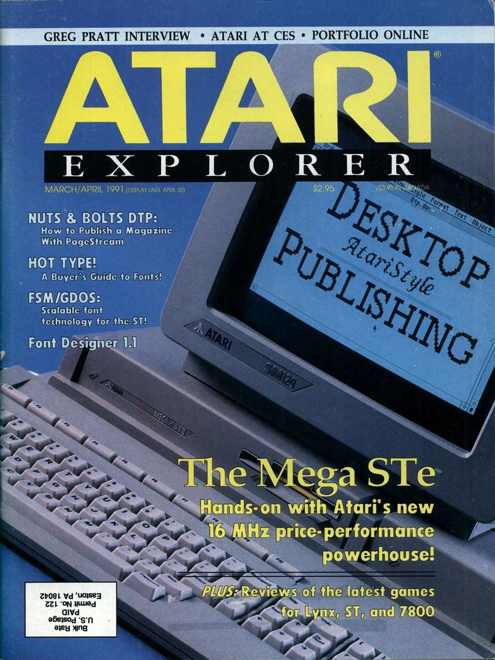 Atari Explorer Issue 27 (March / April 1991)