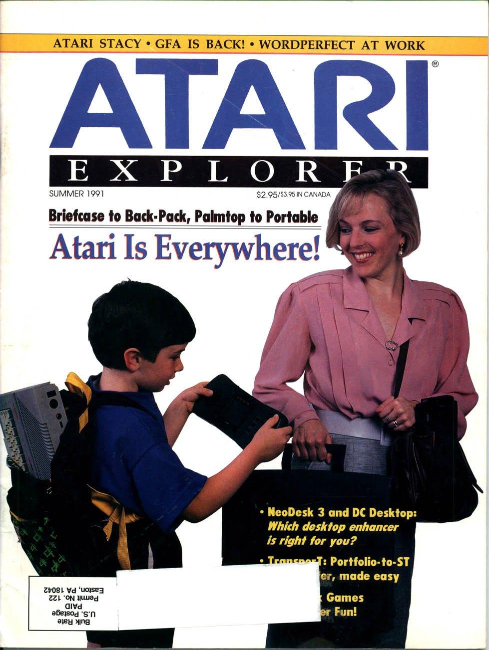 Atari Explorer Issue 28 (Summer 1991)