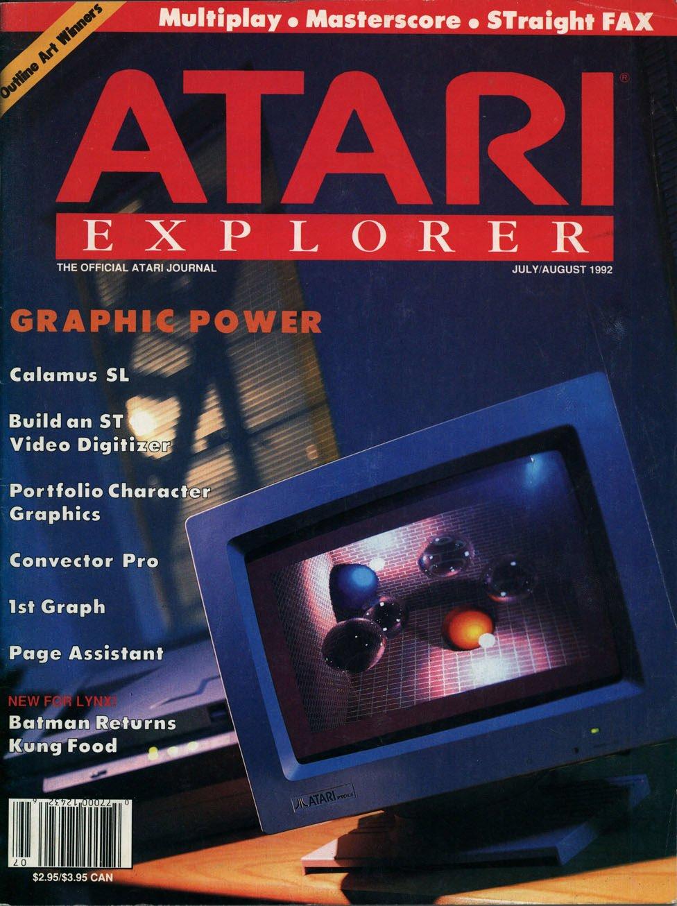 Atari Explorer Issue 34 (July / August 1992)