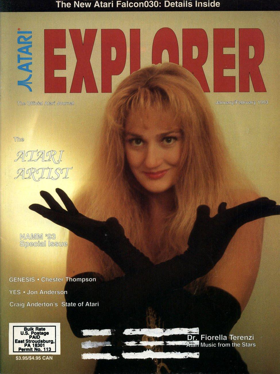 Atari Explorer Issue 36 (January / February 1993)
