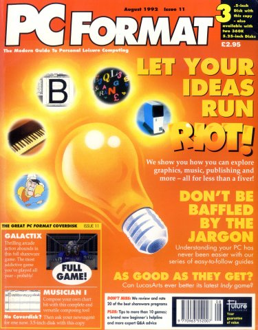 PC Format Issue 011 (August 1992)