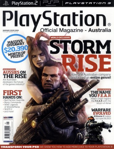 PlayStation Official Magazine Issue 026 (January 2009)