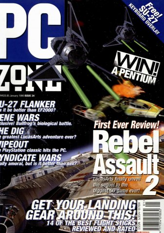 PC Zone Issue 034 (January 1996)