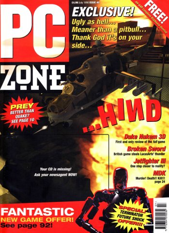 PC Zone Issue 040 (July 1996)