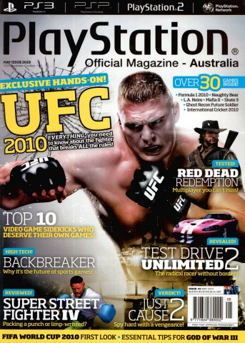 PlayStation Official Magazine Issue 043 (May 2010)