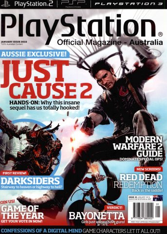 PlayStation Official Magazine Issue 039 (January 2010)