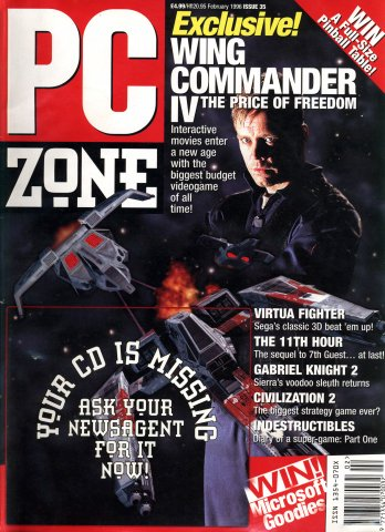 PC Zone Issue 035 (February 1996)