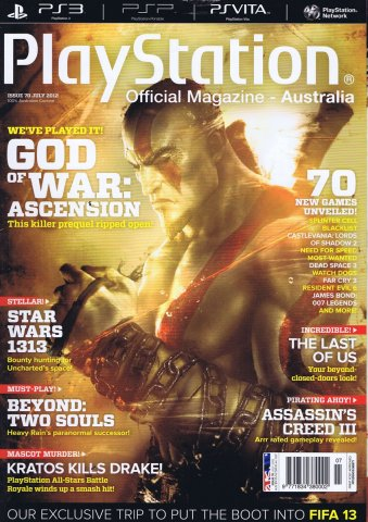 PlayStation Official Magazine Issue 070 (July 2012)