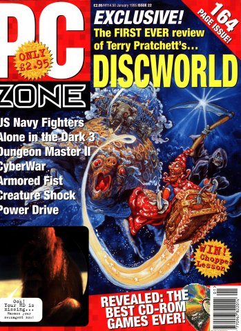 PC Zone Issue 022 (January 1995)