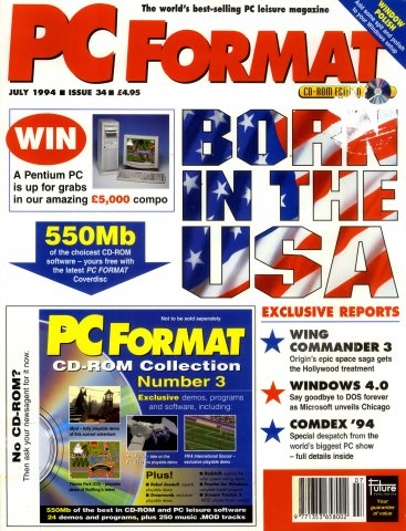 PC Format Issue 034 (July 1994)