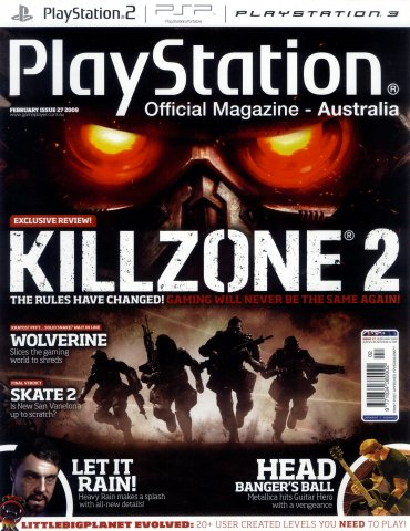 PlayStation Official Magazine Issue 027 (February 2009)