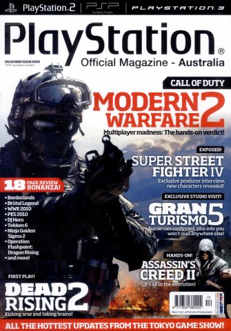 PlayStation Official Magazine Issue 037 (December 2009)