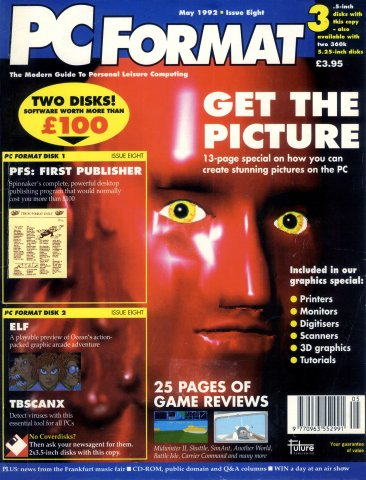 PC Format Issue 008 (May 1992)