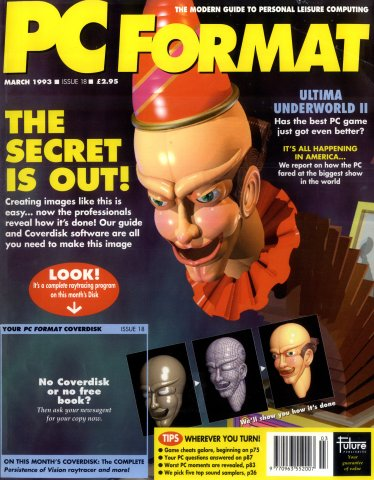 PC Format Issue 018 (March 1993)