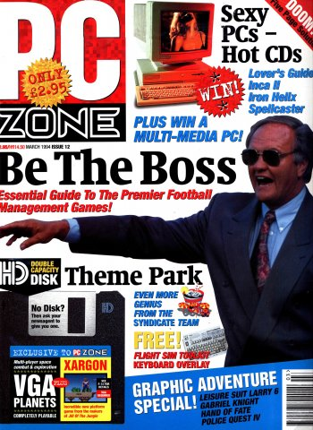 PC Zone Issue 012 (March 1994)