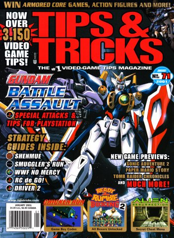Tips & Tricks Issue 071 (January 2001)