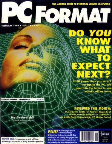 PC Format Issue 017 (February 1993)