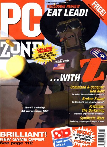 PC Zone Issue 042 (September 1996)
