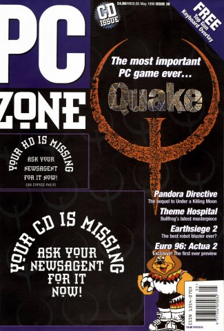 PC Zone Issue 038 (May 1996)