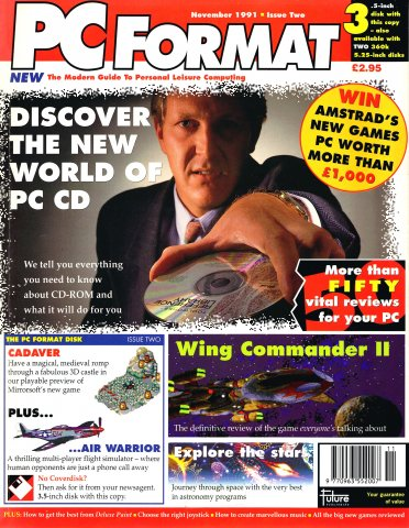 PC Format Issue 002 (November 1991)