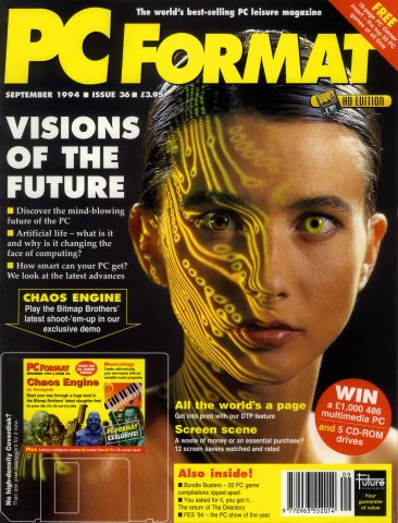 PC Format Issue 036 (September 1994)