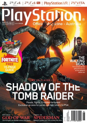 PlayStation Official Magazine Issue 147 (June 2018)