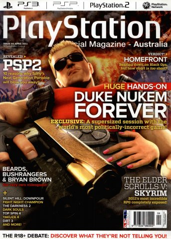 PlayStation Official Magazine Issue 054 (April 2011)