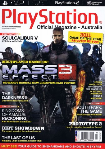 PlayStation Official Magazine Issue 065 (February 2012)