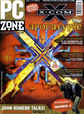 PC Zone Issue 052 (July 1997)