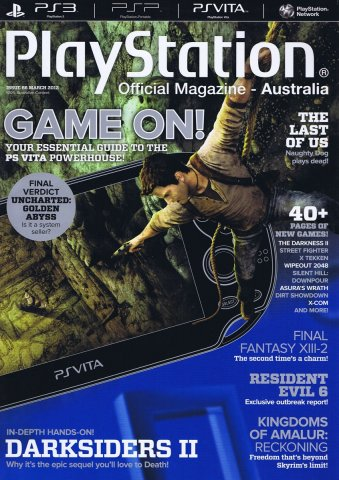 PlayStation Official Magazine Issue 066 (March 2012)