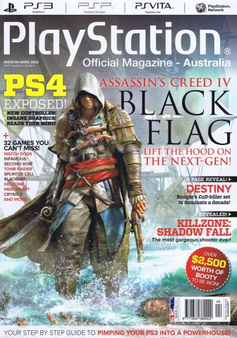 PlayStation Official Magazine Issue 080 (April 2013)