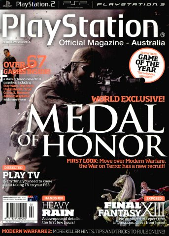 PlayStation Official Magazine Issue 040 (February 2010)